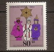 Deutschland 1983, Nr. 1196, Weihnachten Postfrisch (mnh), Bundesrepublik