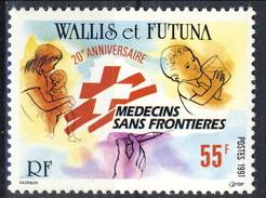 WF 1991 N. 407  Medici Senza Frontiere MNH Cat. € 1.70 - Wallis E Futuna