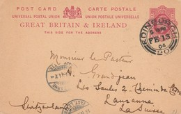 CARTOLINA POSTALE GREAT BRITAIN&IRELAND 1904 (VP1