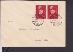 Brief Deutsches Reich Mi.772 Stempel Gingen 1941