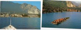 3 Set Lotto Cartoline Baveno Lago Maggiore E Isola Pescatori Colori NV FP - Verbania