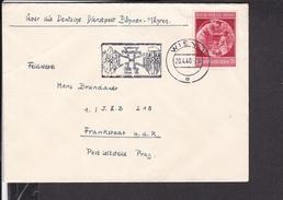 """Brief Deutsches Reich Sonderstempel Wien """"geburtstag Des Führers """" 1940"""