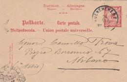 CARTOLINA POSTALE DEUTSCHLAND-BAVIERE-GERMANIA 1902 (VP5
