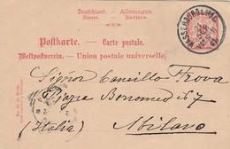 CARTOLINA POSTALE DEUTSCHLAND-BAVIERE-GERMANIA 1902 (VP6