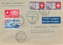 Zurigo To Solothurn, Cover 1939 - Schweiz