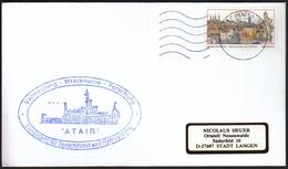 Germany 1996 / Ships / Ship ATAIR / Hydrography