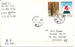 P. R. Of China Cover Sent To Denmark Hang Zhou 23-5-2003 - 1949 - ... People's Republic