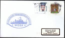 Germany Helgoland 1997 / Ships / Ship WEGA