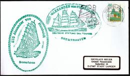 Germany Helgoland 1998 / Ships / Sailing Ship STS Alexander Von Humboldt