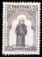 !! Azores 1895 AF#86(*) St. Anthony. 500 Réis CV €270,00 (x0425)