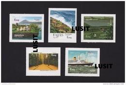 PORTUGAL 2015 AZORES  AÇORES Label Stamp EUROPA CEPT BEES APICULTURE HONEY FLORA SHIP BATEAUX ABEILLES