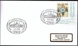 Germany Lemwerder 1995 / Ships / Ship / Philatelic Society