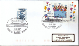 Germany Kiel 1997 / Ships / Ship / Opening The Norwegian Channel / Philatelic Exhibition