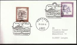 Austria Ebensee 1989 / Ships / Ship / Ship Post / Cancel No. 1