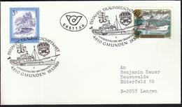 Austria Gmunden 1989 / Ships / Ship / Cancel No. 1