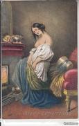 """NU_NUE_NUS_NUDE_NAKED WOMAN-NUDI ARTISTICI-""""..."""" ... Pinxit-Original D'epoca 100%- - Pittura & Quadri"""