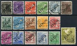 33574) BERLIN # 1-17 Gestempelt Teils GEPRÜFT Aus 1948, 748.- € - Berlin (West)