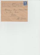 """LSC 1953/ Flamme """"Grand Prix International  Autos-Motos Bordeaux 2-3 Mai""""  (REF 278) - Marcophilie (Lettres)"""
