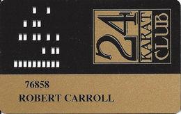 Golden Nugget Casino Laughlin, NV - Slot Card - Casino Cards