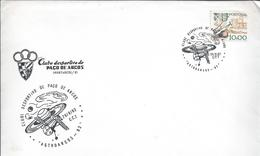 Space Station. Postmark Of Portugal With No Indication Of The Location Of Use. Used In Paço De Arcos 28/09/1982.RARE