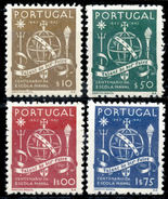 !! Portugal 1945 AF#660-663* Naval School Set (x11331)