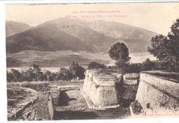 POSTALES  - MONT LOUIS (PYRÉNÉES ORIENTALES) FRANCIA  - LAS MURALLAS  ( LES REMPARTS) - Roussillon