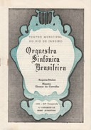 Program * 1961 * Brazil * Orquestra Sinfônica Brasileira * Teatro Municipal Do Rio De Janeiro - Programmes