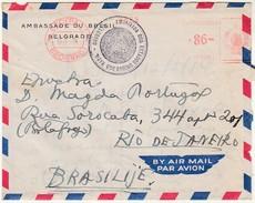 Cover * Ambassade Du Bresil * Belgrade * Serbia * 1954 * 2 Scans - Advertising