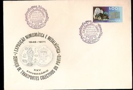 Portugal &  FDC XXV Philatelic And Numismatic Exhibition Of Collective Transport Of Porto 1971 ((1109) - FDC