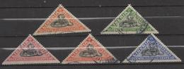 M978.-. LIBERIA - 1971 - SC#: F20-F24 - USED. SNAKES / SERPIENTES .-. SCV:US$ 9.00