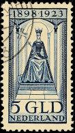 5 Gld. Blau, Tadellos, Gest., Katalog: 133 O5 Gld. Blue, In Perfect Condition, Used, Catalogue: 133 O