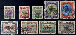 1 Ö. Bis 5 Kr., Befreiung Dänemarks,  9 Werte Kpl. Postalisch Zeitgerecht Entwertet, Mi. 1.050,-,...