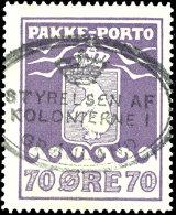 """70 Öre Violett, Klar Postalisch Gestempelt """"STRYRELSE"""", Mi. 300,-, Katalog: 10A O70 °re Violet, Clear..."""