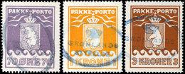 """70 Öre, 1 Und 3 Kr., Je Klar Postalisch Gestempelt """"STRYRELSE"""", Mi. 600,-, Katalog: 10/12A O70 °re, 1..."""