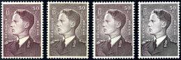 Freimarke 100 Fr. Auf Allen Vier Papiersorten, Tadellos Postfrisch, Mi. 127,--, Katalog: 928xa-zyb **Postal...