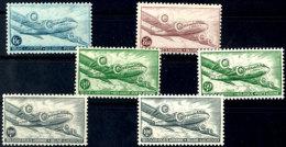 Flp.-Marken Kpl. Tadellos Postfrisch In Beiden Zähnungen, Mi. 395,--, Katalog: 751/54 A/B **Airmail....