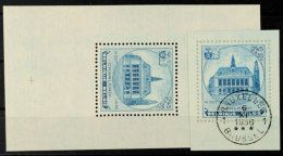 2,45 Fr + 55 C Blockmarke Aus Bl. 5 Auf Kabinettbrfst., Sauber Rundgest Und Zusätzlich Postfrisch., Mi. 100,-...