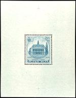 """""""Charleroi""""-Block Ohne Den Sonst üblichen Stempel Auf Dem Rand, Tadellos Postfrisch, Mi. 130,-- +, Katalog:..."""
