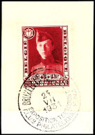 2,45 Fr + 55 C Blockmarke Aus Bl. 2 Auf Kabinettbrfst., Sauber Rundgest., Mi. 90,- Euro, Katalog: 314 BS2, 45...