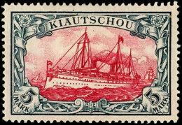 1901, 5 M. Ohne WZ., Tadellos Mit Sauberem Falz, Mi. 250,--, Katalog: 17 *1901, 5 M. Without WZ., In Perfect...
