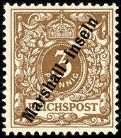 "1899, 3 Pf. ""lebh.-orangebraun"", Tadellos, Gepr. Steuer BPP, Mi. 350,--, Katalog: 7b *1899, 3 Pf. ""lebh. Orange..."