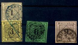 1 Bis 9 Kr Je Tadellos Gestempelt Luxus, Mi. Billigst 232,--, Katalog: 1/4 O1 Till 9 Kr Always Neat Cancelled...