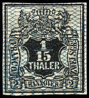 1/15 Thaler Tadellos Ungebraucht Mit Vollem Originalgummi Und Schwacher Falzspur, Allseits Vollrandig, Mi. 120,--,...