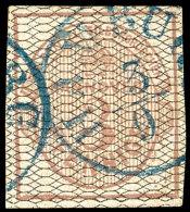 3 Pf. Tadellos Mit K1 HARBURG, Mi. 350,--, Katalog: 8a O3 Pf. In Perfect Condition With Single Circle Postmark...