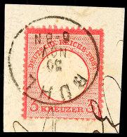 """""""BÜHL"""", K1 Klar Kopf Stehend Auf 3 Kr. Kleiner Schild Auf Briefstück, Kurzbefund Sommer BPP """"einwandfrei""""..."""