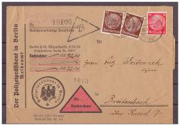 DR, Nachnahme Der Polizeipräsident In Berlin Nach Breitenbach 20.09.1935