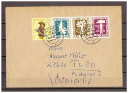 DDR, MiNr. 1368 - 1371 Auerbach Nach Tulln, Österrreich 14.06.1968 - Non Classificati