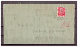 Deutsches Reich MiNr. 519 Landpoststempel Memlos über Fulda TSt Fulda 07.09.1934