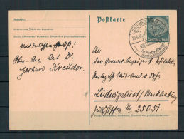 DR, Ganzsache P226 Bad Neuenahr Nach Ludwigslust  29.06.1938