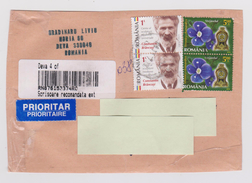Romania - Registered Pack Cover To Japan - Paquetes Postales